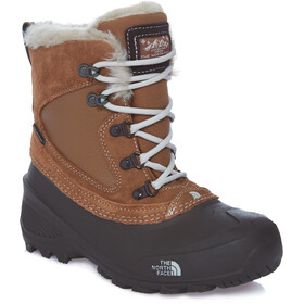 The North Face Shellista Extreme Bottes Enfant, dachshund brown/moonlight ivory